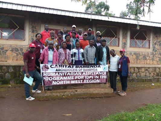 Caritas Bamenda works in partnership with communities